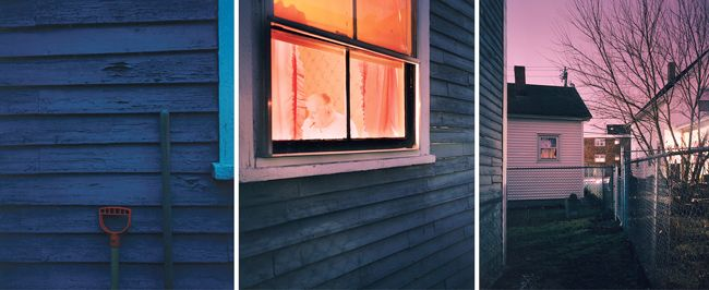 DAD, 1998, CHROMOGENIC PRINTS (3 PANELS), COURTESY GALERIE YANCEY RICHARDSON, NEW YORK © DAVID HILLIARD | #linsense #photo