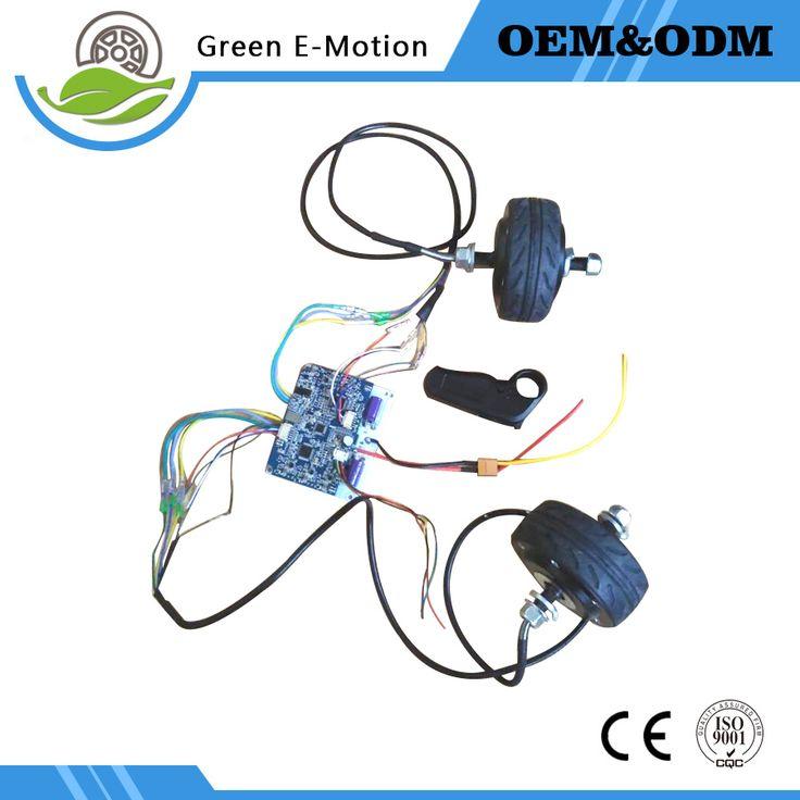 "All Terrain electric skateboard Motor kit 4"" electric skateboard Hoverboard Motor kit Remote control Skateboard Motor DIY"