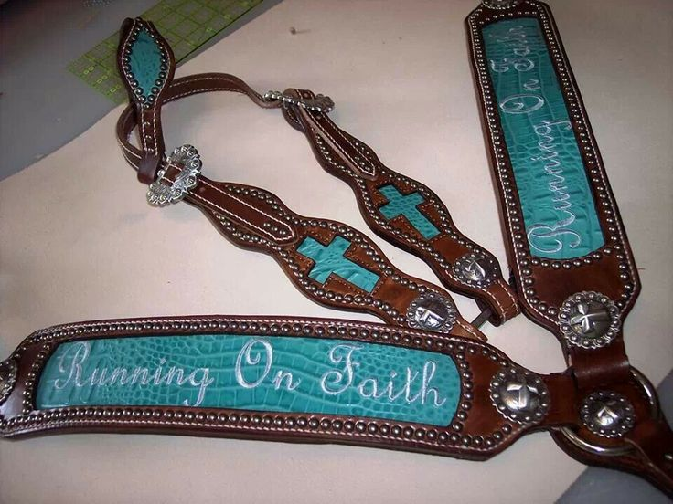 Horse tack made by wind river tack, can be found on facebook... I WANT THIS IN WHITE WITH BLUE WRITING. Gretta would look spectacular.