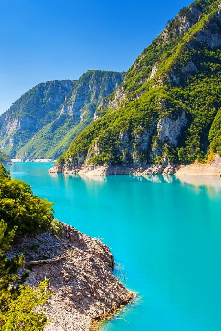 Piva Canyon, Montenegro   Easy Planet Travel - World travel made simple