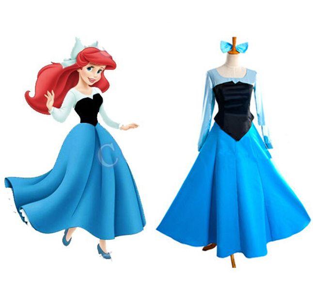 2016-The-Little-Mermaid-Cosplay-Costume-Princess-font-b-Ariel-b-font-Uniform-Party-Dress-font.jpg (646×580)