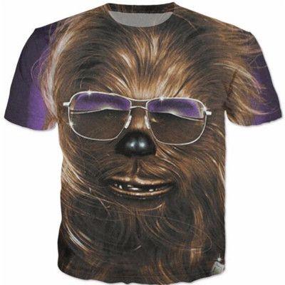 Chewbacca Star Wars 3d Print shirt #chewbacca