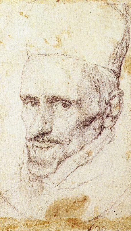 Amantes del Arte Estudio para cabeza del Cardenal Borgia, Diego de Velázquez, 1643-1645. Museo de la Real Academia de Bellas Artes de San Fernando. Madrid.
