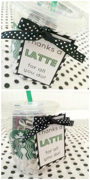 Thanks a Latte Gift // Life Anchored #teacherappreciation
