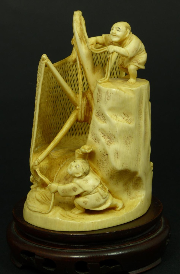 Best carvings ivory bone n such images on pinterest