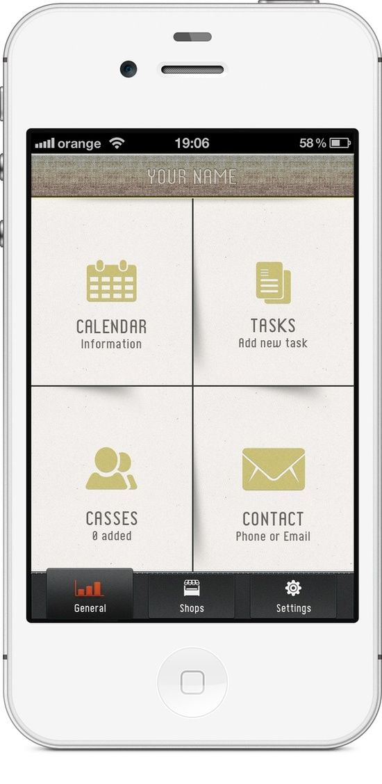 Interface mobile / #mobile #ui #design