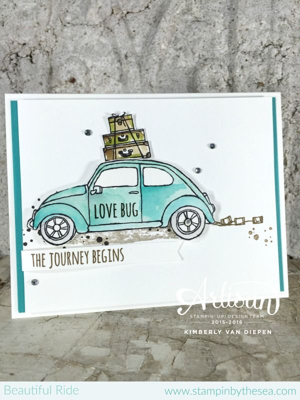 Beautiful Ride stamp set, Wedding Stampin' Up!, Occasions Catalog- StampinByTheSea.com
