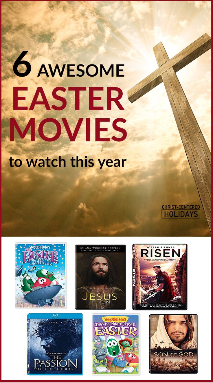 Here's an awesome list of the best Christian Easter movies for kids that teach about the true Easter story. This Easter movie list has some classic kids Easter movies for the whole family, and even some Easter movies for adults and teens that challenge us and help us understand Jesus' Resurrection in a fresh new way. Check out this list of good Easter movies! #eastermovieslist #eastermovieschristian #eastermoviesforkids #eastermoviesforkidsfamilies