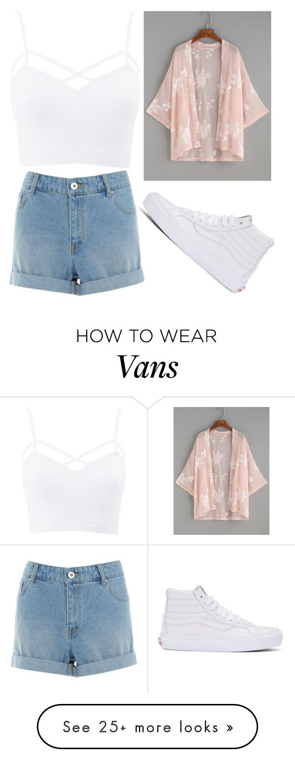 """Untitled 1385"" by sarahfranta92 on Polyvore featuring Vans, Charlotte Russe and plus size clothing"