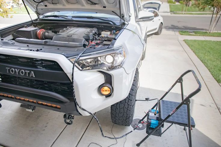 Arb Twin Compressor Install Wiring On 5th Gen Toyota 4runner 4runner Toyota 4runner Compressor