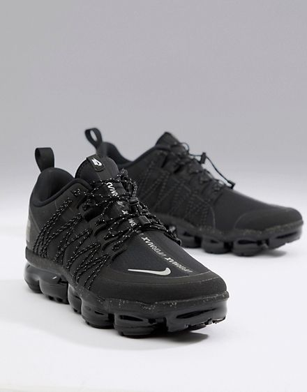sports shoes 7bc58 26875 Nike Running Vapormax utility trainers in black aq8810-003 ...