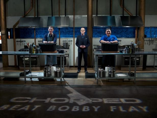 Get the exclusive interview with the winner of the Chopped: Beat Bobby Flay crossover event.