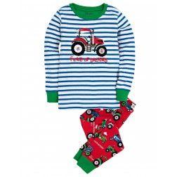 Pyjama à applique – Tracteurs «Field of dreams»