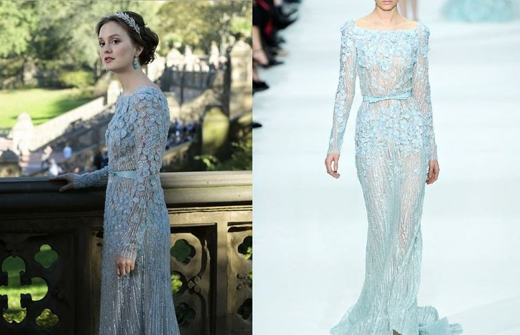 blair waldorf formal dress - photo #9