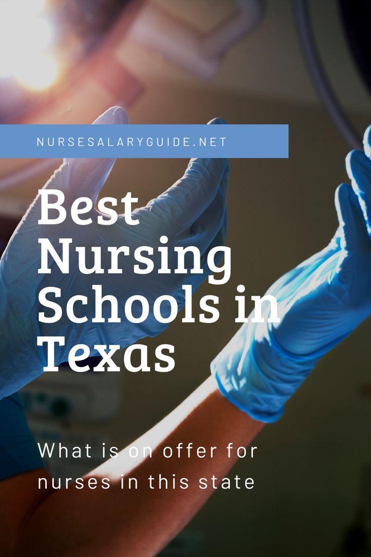Best Nursing Schools in Texas Nurse Salary Guide in 2020