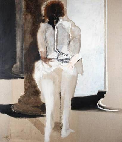 Pagowska, Teresa - Kolumny, z cyklu Figury Magiczne - Nouveau Réalisme - Oil on canvas - Body