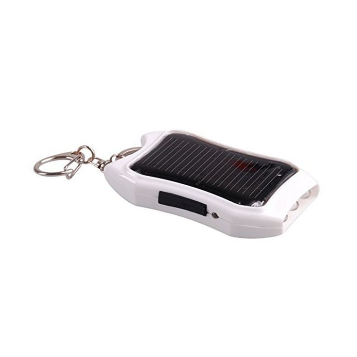 Amazon.com: California Sunlight Solar Charger with Flashlight, 1200mAh, mini key chain, portable: Cell Phones & Accessories