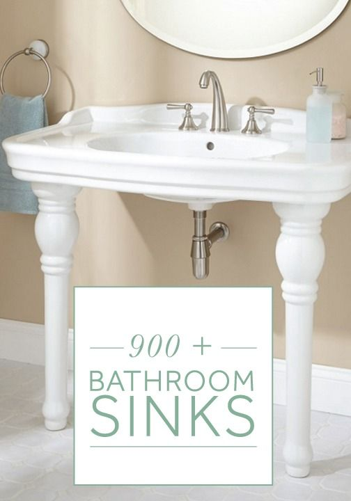 Shop from over 900 bathroom sinks to find the perfect traditional style to match…