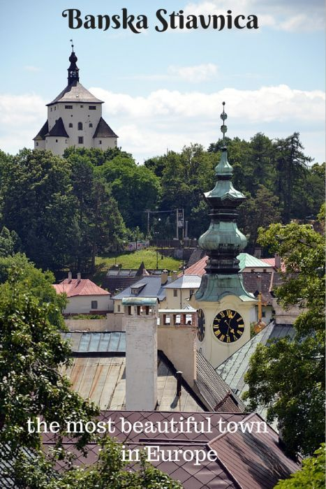 Banska Stiavnica - one of the most beautiful towns in Europe! Click on the picture or visit www.mywanderlust.pl to read (and see!) more!