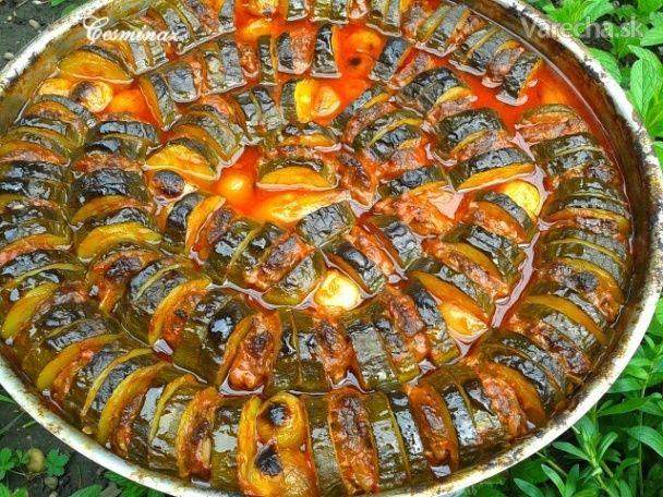 Cukinový tepsi kebab (fotorecept)