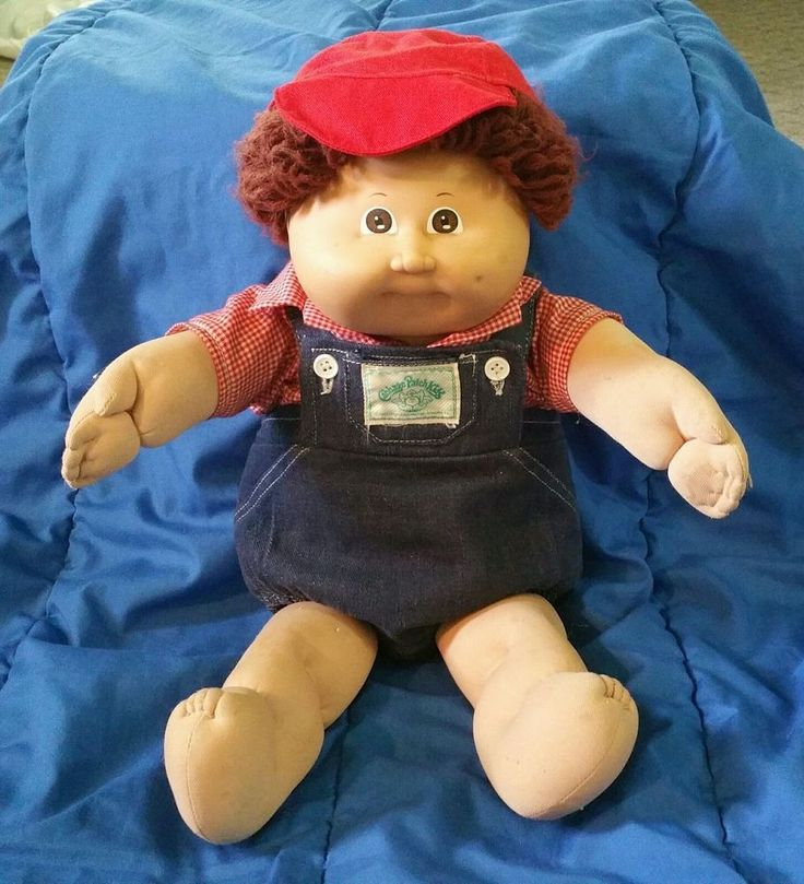 VTG Cabbage Patch Kid Doll Boy 1985 Xavier Roberts Coleco Chauncey Meyer Overall    eBay