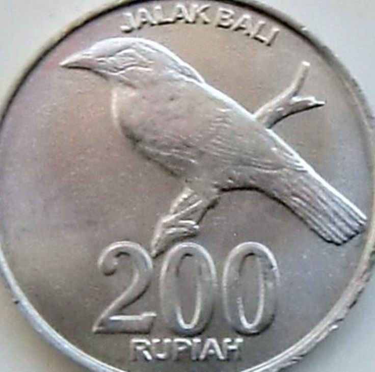 Indonesia 200 Rupia Coins 2003 Asian Asia