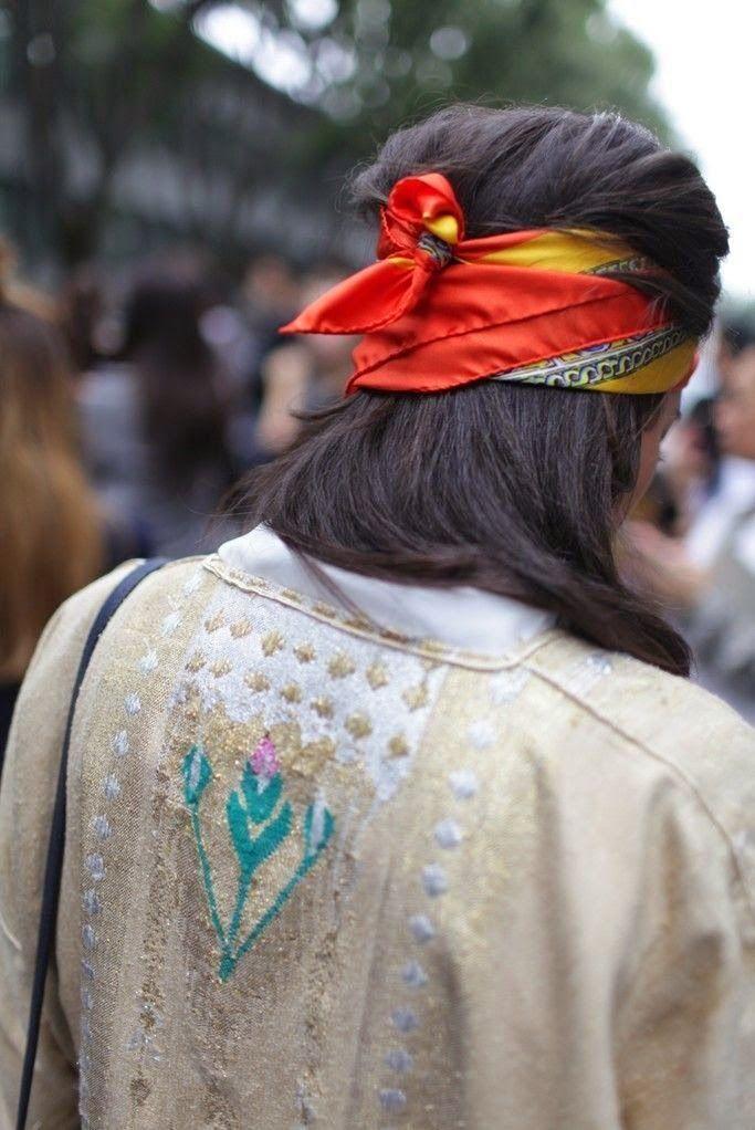 Parisienne: Bandanas Are Back