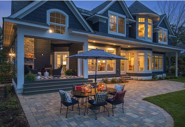 дневник дизайнера: Красивый загородный дом у озера Миннетонка, штат Миннесота, США