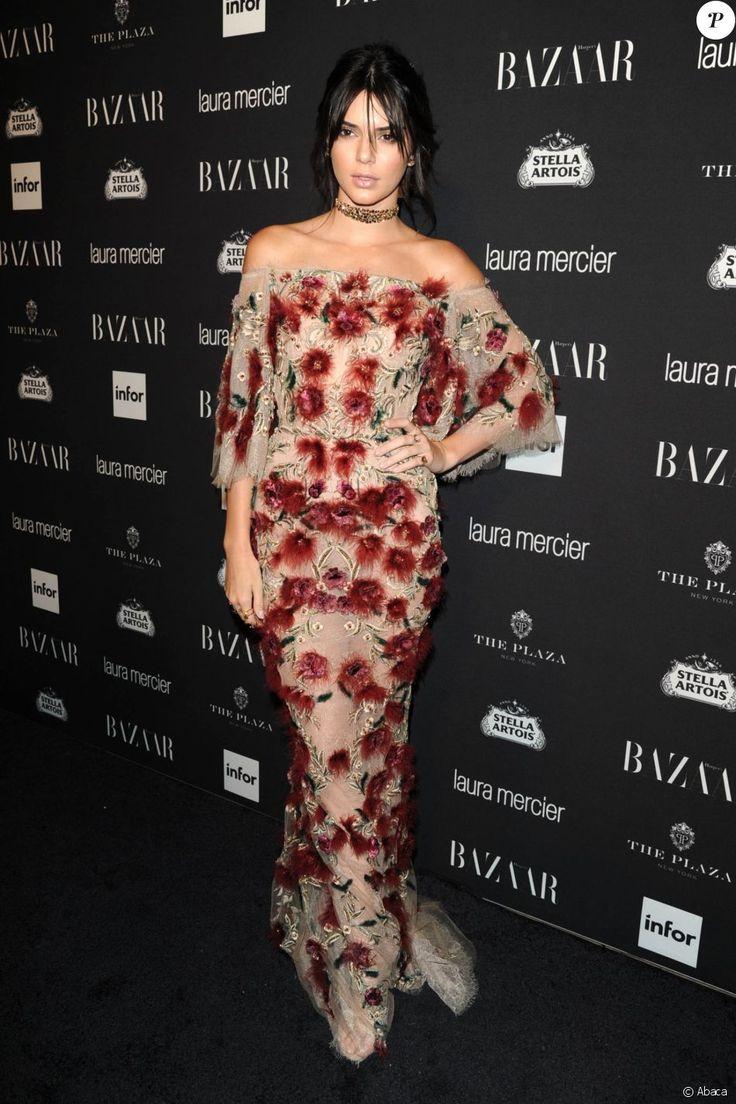 Kendall Jenner assiste à la soirée Icons du magazine Harper's Bazaar au Plaza…
