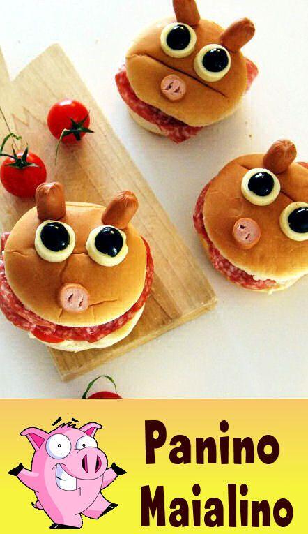 Buffi, simpatici e divertenti: ecco come preparare con i nostri bambini dei paninetti a forma di maialino!