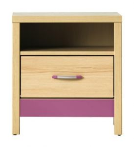 CD14 CODI BOGFRAN bedside cabinet. Functional bedside cabinet with a drawer and a shelf. Modern design. Polish Bogfran Modern Furniture Store in London, United Kingdom #furniture #polish #bogfran #bedsidecabinet