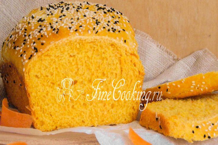 Морковный хлеб - рецепт с фото