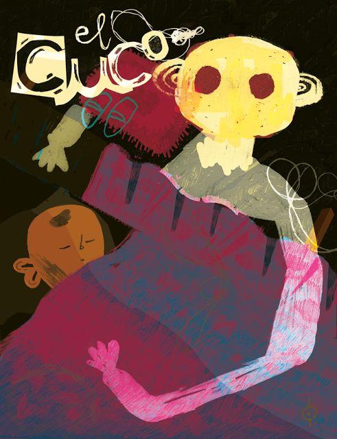 CALVERT: El Cuco Illustration/Illustracion