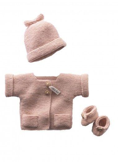 Kit tout petit rose - facile à tricoter Kits, broderie & tricot Achat en ligne