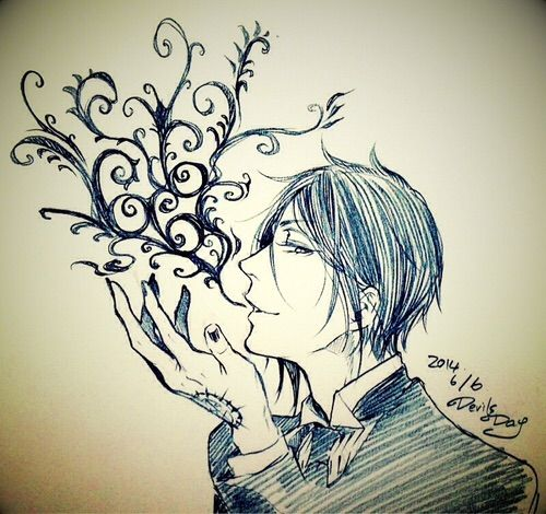 Image via We Heart It https://weheartit.com/entry/157944706 #blackbutler #drawing #kuroshitsuji #sketch #sebastianmichaelis