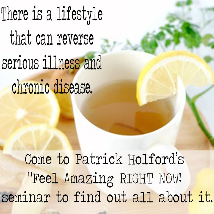 Learn how you can join the lifestyle that can reverse serious illness and chronic disease #weightloss #lifestyle #disease http://www.holforddirect.co.za/patrick-holfords-feel-amazing-right-now-tour/