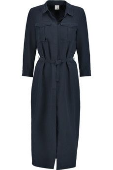 Iris and Ink Adrienne silk shirt dress | THE OUTNET
