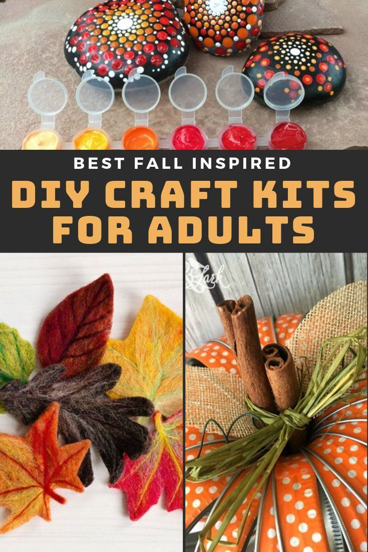 Best Diy Craft Kits For Adults To Try This Fall Soap Deli News Diy Craft Kits Craft Kits Cheap Crafts