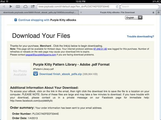 how do i download zip files on ipad