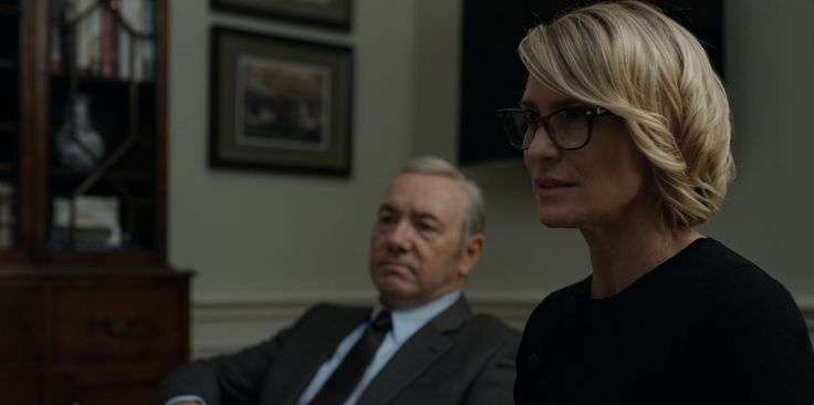 Moscot glasses worn by Robin Wright in HOUSE OF CARDS (2017)