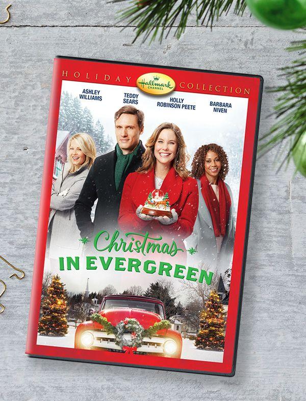 Christmas In Evergreen Dvd Hallmark Christmas Movies Hallmark Movies Christmas Movies
