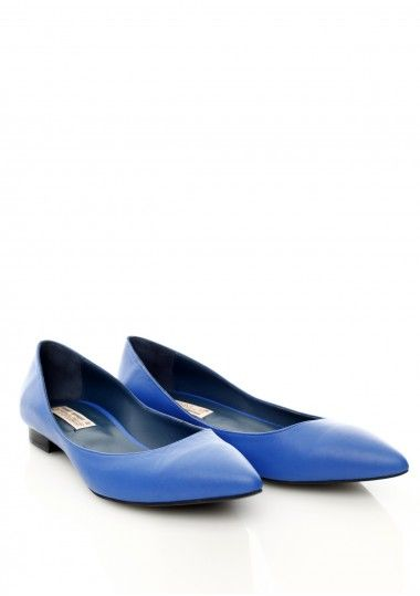SEPALA - Balerini piele albastra