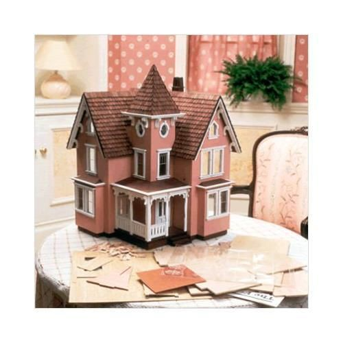 Greenleaf-Fairfield-Dollhouse-Kit-1-2-Inch-Scale-Recommended-for-hobbyists
