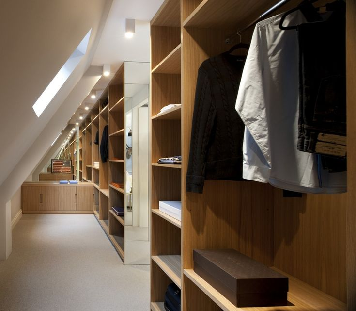 """Is this a possibility for the """"walk-in wardrobes"""" upstairs? really like this! -K&S  TG-Studio Mews House 13"""