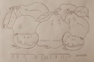 Arte * Vida: Tangerina ponkan