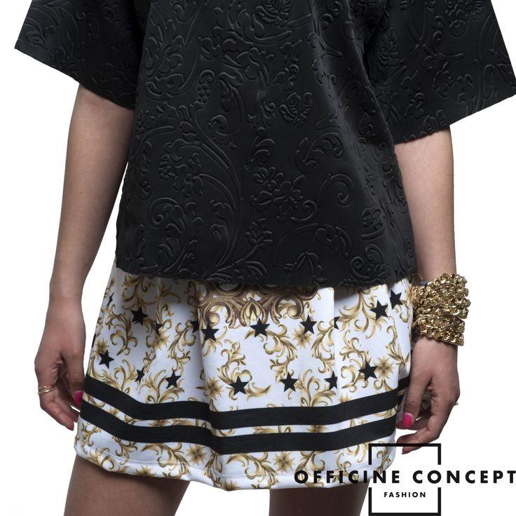 gaelle bonheur top and shiki skirt...officine concept <3 fashion details! www.officineconcept.com