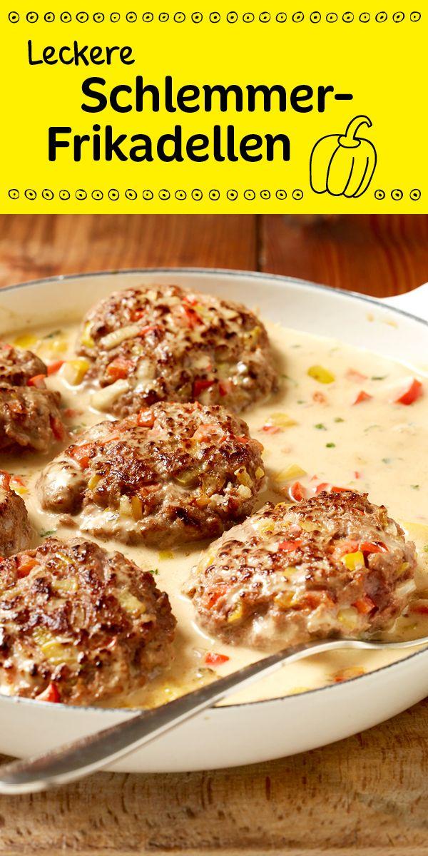 Würzige Frikadellen in einer cremigen Sauce mit Paprika - ein richtiges Wohlfühlessen!
