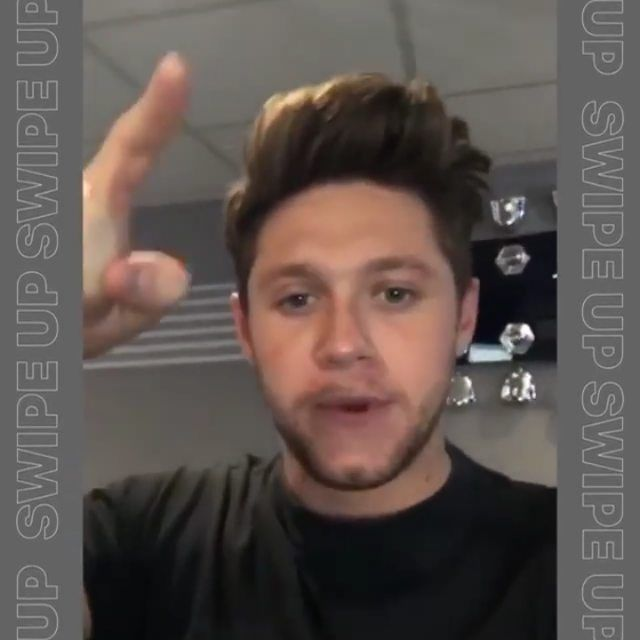 Apple Music posted this video of Niall on their Instagram