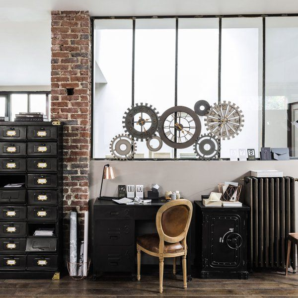 137 best images about verri res industrial windows on pinterest industrial window and sons - Chaise bureau industriel ...