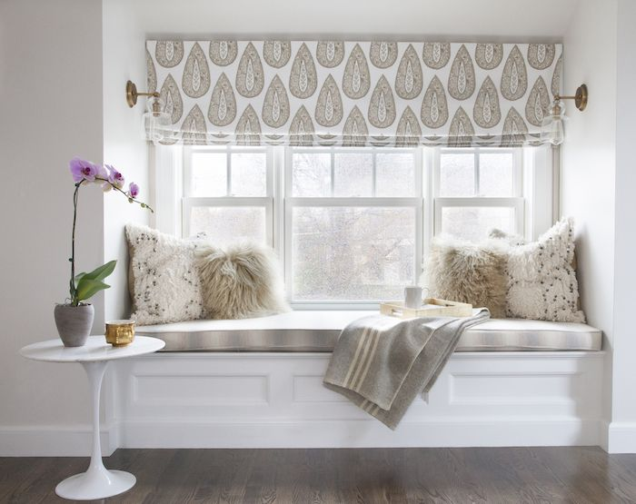 25 best large window treatments ideas on pinterest for Roman shades for wide windows